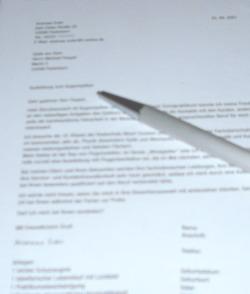 so kann ein bewerbungsschreiben aussehen hier gibt es weitere bewerbungsschreiben - Eigenschaften Bewerbung