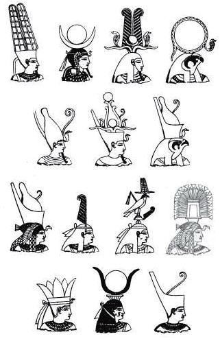 Religion im alten Ägypten - Pharao und Totenrichter