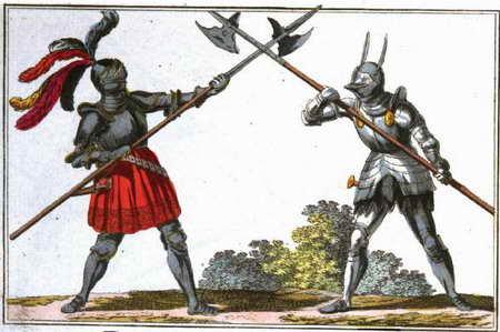 Bild geschichte des ritterwesens 1804