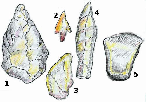 Die Steinzeit - u00dcbungen